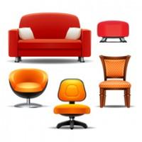 Кресла, стулья, диваны.